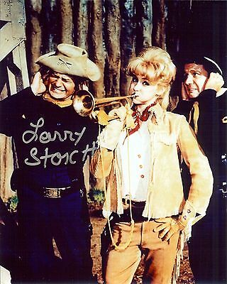 F Troop Larry Storch Autographed 8X10 Photo With Wrangler Jane Melody Patterson