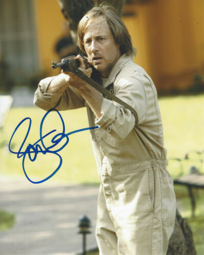 JON GRIES SIGNED AUTHENTIC 'LOST' ROGER LINUS 8x10 PHOTO w/COA TV ACTOR