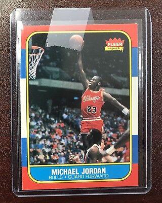 sale retailer 67d7f 0e12e 1986 Fleer Basketball Set Complete. Michael Jordan Rookie Card And Sticker