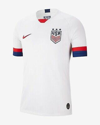 Nike U.S.A. Official 2019 2020 Home USA Soccer Jersey ()