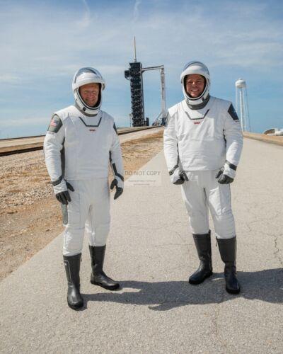 DOUGLAS HURLEY & ROBERT BEHNKEN SPACEX DEMO-2 ASTRONAUTS 8X10 NASA PHOTO (SP544)