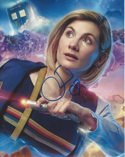 JODIE WHITTAKER SIGNED AUTHENTIC 'DOCTOR WHO' 8X10 PHOTO w/COA THIRTEENTH PROOF