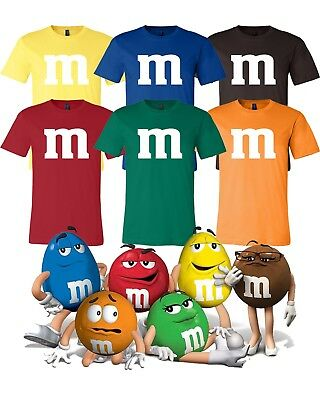 M & M Halloween Costume Group Costumes Candy T Shirts Bella Canvas Soft tee - Candy Group Halloween Costumes
