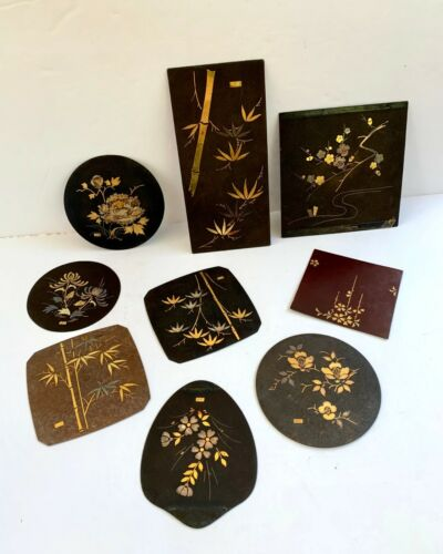 Vintage Japanese Metal Decorations: Shakudo (H11)