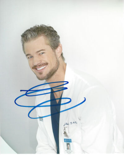 ERIC DANE SIGNED AUTHENTIC 'GREY'S ANATOMY' 8X10 PHOTO w/COA ACTOR CHARMED