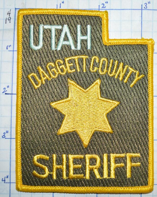 UTAH, DAGGETT COUNTY SHERIFF DEPT PATCH