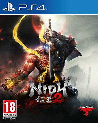 Nioh 2 (PS4) IN STOCK Brand New & Sealed Free UK P&P