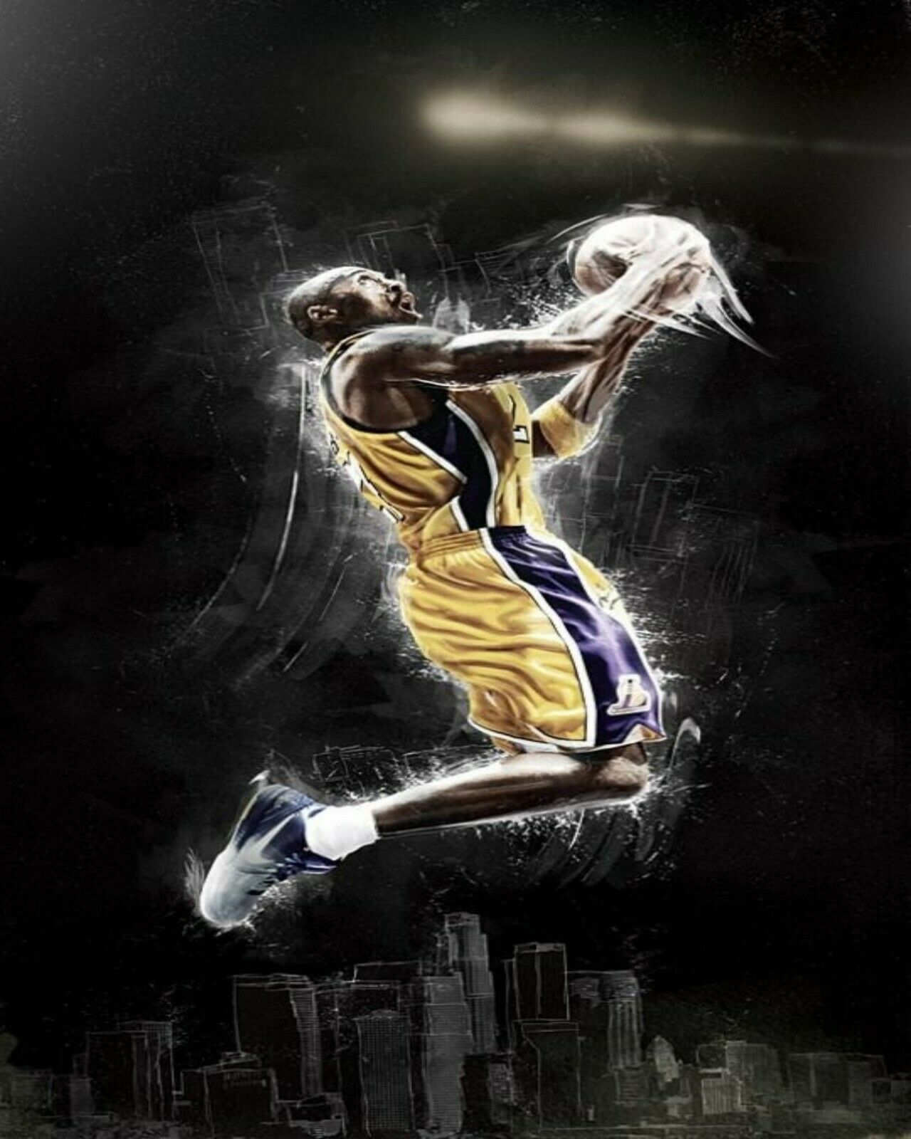 35 Kobe Bryant Collection Van-Go Paint-By-Number Kit