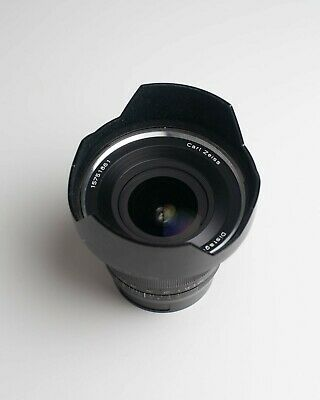 Carl Zeiss Distagon 18mm/f3.5 ZE for Canon Mount EF, Lens Hood, Great Condition