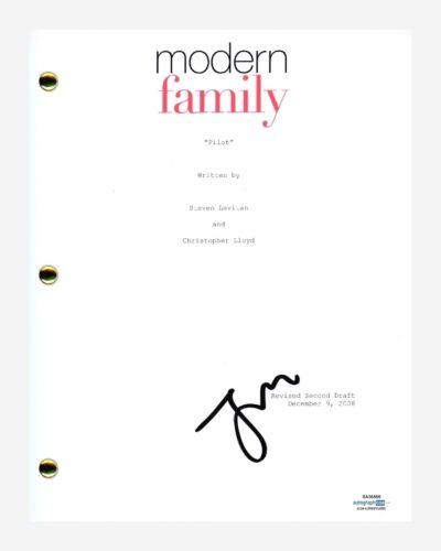 Jesse Tyler Ferguson Signed Autograph Modern Family Pilot Script ACOA COA