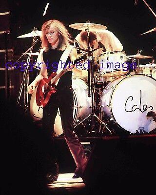 Cheap Trick Robin Zander Feb 1, 1981 Granada Theatre Chicago Color 8x10 O