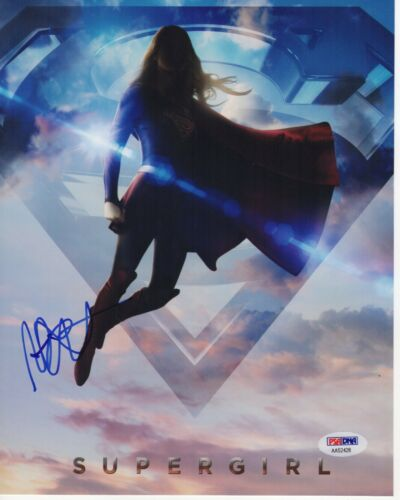 MELISSA BENOIST SIGNED SUPERGIRL 8X10 PHOTO! SUPERMAN KARA DANVERS PSA BAS COA 2