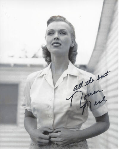 ACTRESS NOREEN NASH SIGNED AUTHENTIC PHANTOM FROM SPACE 8X10 PHOTO w/COA GIANT