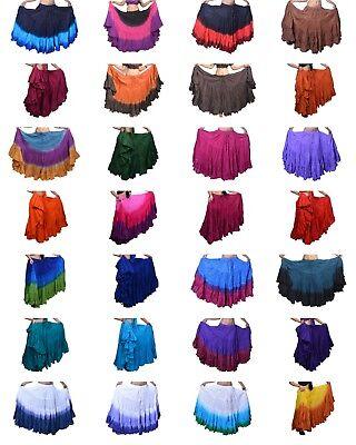 Bauchtanz Full Circle mehrere Farben 25 Hof Röcke aus