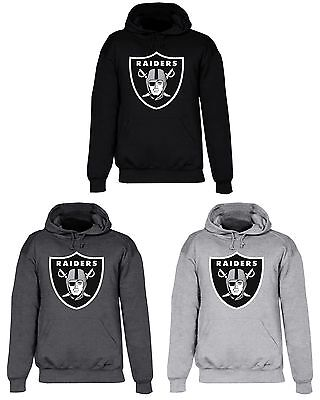 Oakland Raiders Hooded Sweat Shirt Cotton Hoodie Adult Sweatshirt Men Las Vegas