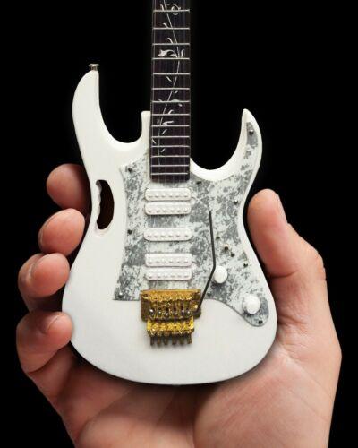 Steve Vai White JEM Guitar Replica Mini Guitar Collectible