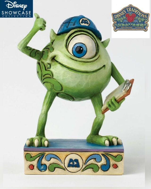 Disney Traditions Monsters Inc Good Morning Metropolis Mike Wazowski Mint BNIB