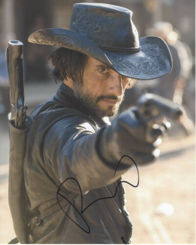 RODRIGO SANTORO SIGNED AUTHENTIC 'WESTWORLD' 8X10 PHOTO C w/COA 300 ACTOR