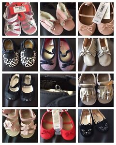 New infant girls shoes newborn to size 5