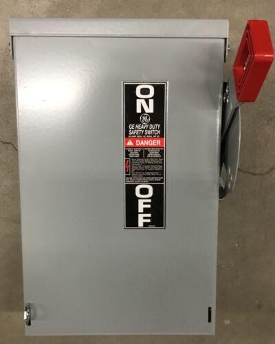 GE TH3361R 30 AMP NEMA 3R 600 VAC SAFETY SWITCH
