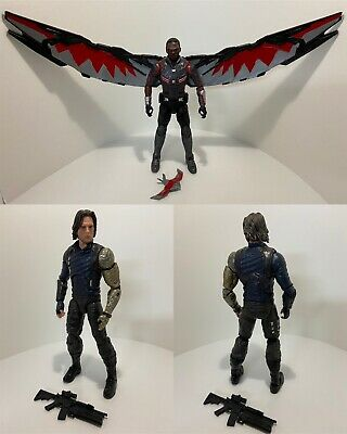 Marvel Legends Infinity War Falcon & Winter Soldier Figure 2 Pack Loose