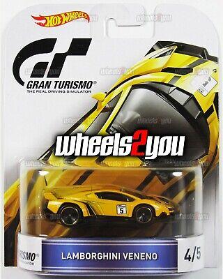 LAMBORGHINI VENENO Gran Turismo - 2016 Hot Wheels Retro Entertainment