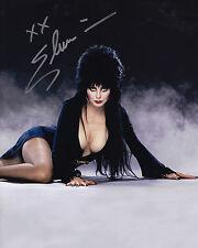 Elvira Signed 8x10 Picture Actor Mistress of Darkness Cassandra Peterson Auto