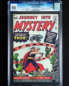 JOURNEY INTO MYSTERY #83 CGC *AFFORDABLE 1962 ORIGINAL COPY* 1ST APPEARANCE THOR