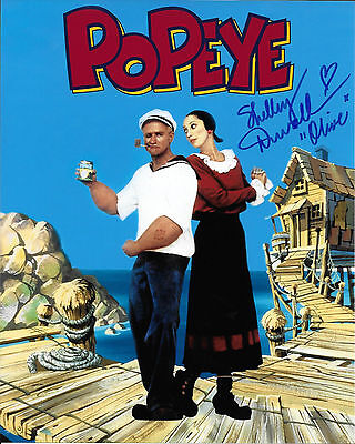 Popeye Movie Shelley Duvall Signed Autographed Movie Photo Coa  Proof  Olive