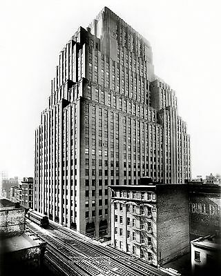Telegraph Building (WESTERN UNION TELEGRAPH BUILDING, NEW YORK CITY IN 1931 - 8X10 PHOTO (CC-159) )