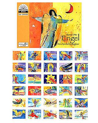 NEU!!! Kunst Postkartenbuch  Engel von Renate Otto,  30 Kunst Postkarten NEU!