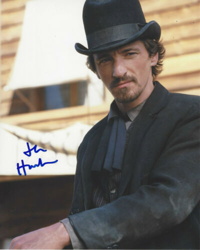 JOHN HAWKES SIGNED AUTHENTIC 'DEADWOOD' SOL STAR 8x10 PHOTO C w/COA ACTOR