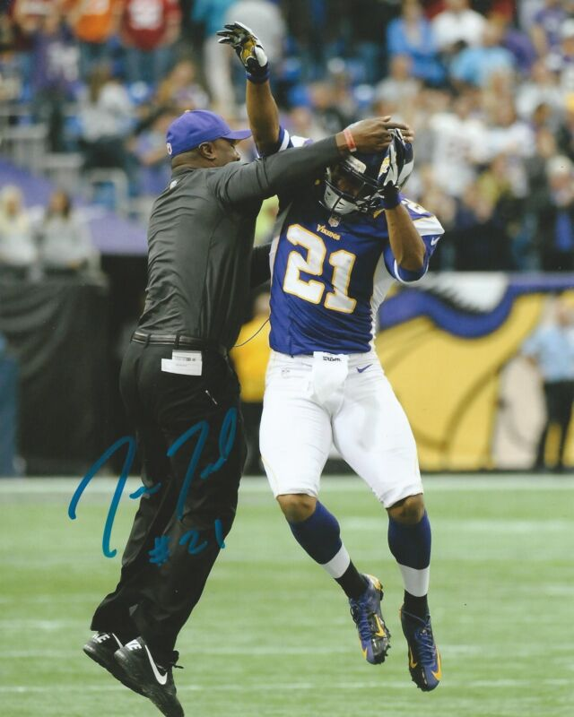 **GFA Minnesota Vikings *JOSH ROBINSON* Signed 8x10 Photo J2 COA**