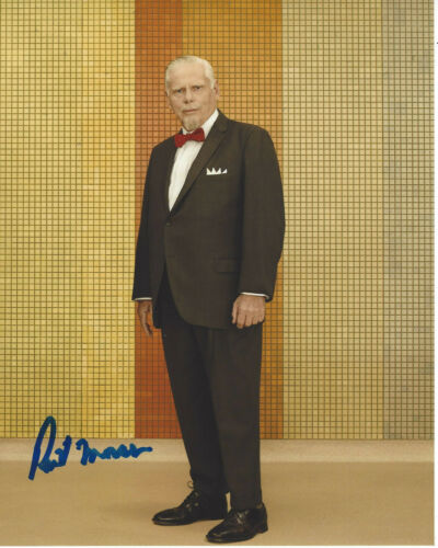ROBERT MORSE SIGNED AUTHENTIC MAD MEN 'BERT COOPER' 8X10 PHOTO w/COA ACTOR