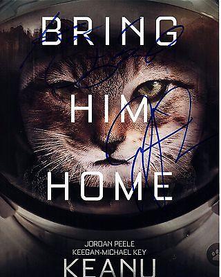 Keegan Michael Key Jordan Peele Signed Keanu 8X10 Photo  Autograph  2