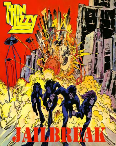 """Thin Lizzy Poster Art """"Jailbreak"""" Cover Change Large 16x20 Print Free Shipping!"""