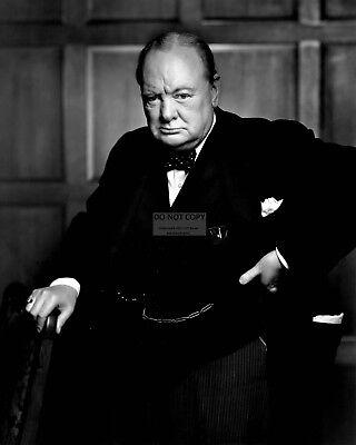 Winston Churchill British Prime Minister   8X10 Photo  Ab 510