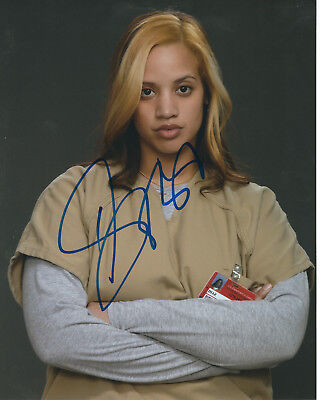 Dascha Polanco Orange Is The New Black Autographed Photo Signed 8X10  1 Dayanara