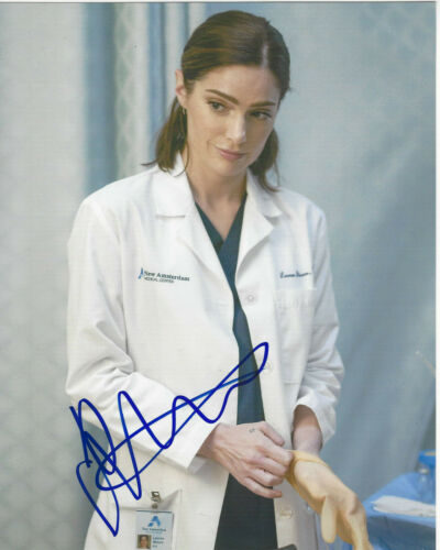 JANET MONTGOMERY SIGNED AUTHENTIC 'NEW AMSTERDAM' 8x10 PHOTO w/COA SEXY ACTRESS