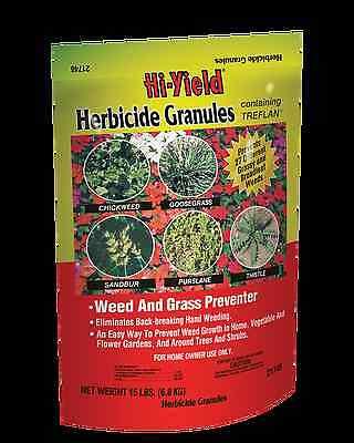 Hi-Yield Herbicide Granules Treflan 15 lb vegetable ...