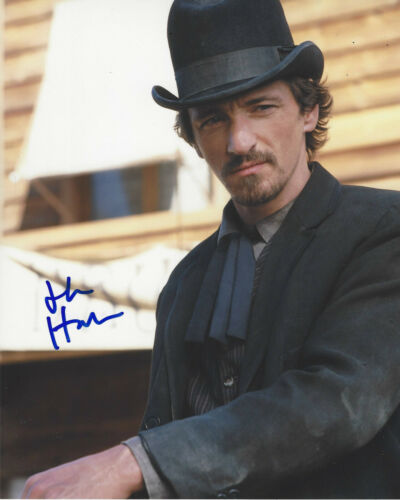 JOHN HAWKES SIGNED AUTHENTIC 'DEADWOOD' SOL STAR 8x10 PHOTO D w/COA ACTOR
