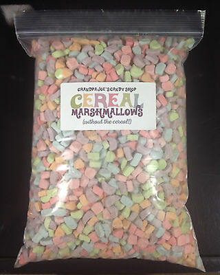 Cereal Marshmallows Without the Cereal (1.25lb Bag) FREE SHIPPING