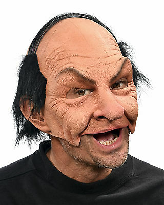 Nicky Funny Old Bald Man Adult Halloween Mask Eat Drink & Party While Wearing](Adult Halloween Party Drinks)