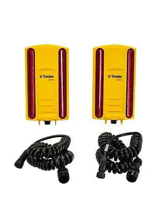 Trimble Dual Lr410 Laser Receiver Kit W Coil Cables