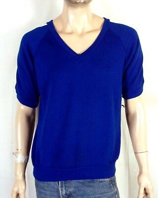 kleidung Blaue Streifen Ärmel Ss Raglan Sweatshirt Indie (70er-jahre-sportkleidung)
