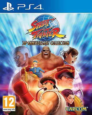 Street Fighter 30th Anniversary Collection PS4 *PREORDER ITEM* Released 29/05/18