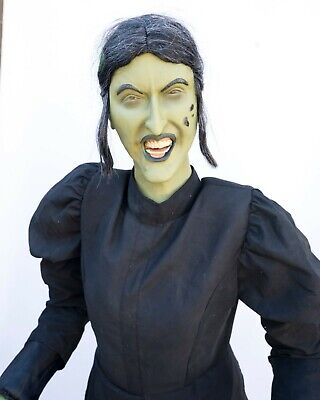 Gemmy Wizard of OZ Wicked Witch Lifesize Prop NON WORKING AS IS Static Prop