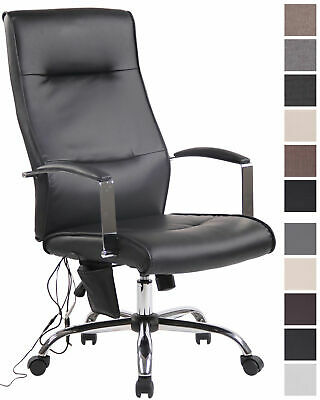 Bürostuhl Portland mit Massagefunktion Schreibtischstuhl Stuhl Kunstleder Stoff