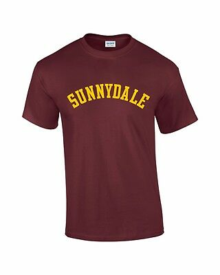 SUNNYDALE, T-Shirt, Buffy the Vampire Slayer, Halloween Costume, Retro, TV, NEW