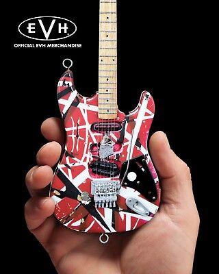 Mini Guitar EVH Collectible Eddie Van Halen Frankenstrat Replica Frankenstein for sale  Shipping to Canada
